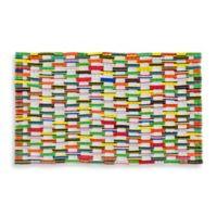 23-Inch x 35-Inch Recycled Flip Flop Door Mat