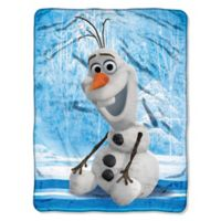 Frozen Chills and Thrills Plush Throw Blanket