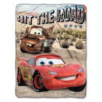 "Disney® Pixar® Cars ""Off the Road"" Micro Raschel Throw Blanket"