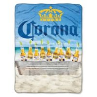 "Corona ""Beach Cooler"" Micro Raschel Throw Blanket"