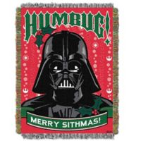 "Star Wars ""Humbug"" Woven Tapestry Throw Blanket"