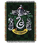 Harry Potter™ Slytherin Woven Tapestry Throw Blanket