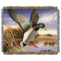 Hautman Brothers Easy Landing Woven Tapestry Throw Blanket