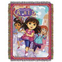 Nickelodeon™ Dora Adventure Awaits Tapestry Throw Blanket