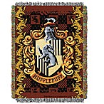 Harry Potter™ HufflePuff Crest Tapestry Throw Blanket