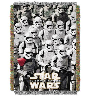 star wars u003e star wars imperial troops woven tapestry throw blanket