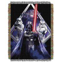 Star Wars™ Midnight Vader Woven Tapestry Throw Blanket