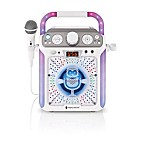 The Singing Machine Groove Cube Karaoke System in White