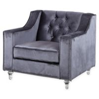 Chic Home Stewart Club Chair in Grey