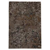 Capel Rugs Celestial-Cobblestone Flat Woven 5-Foot x 8-Foot Area Rug in Coffee