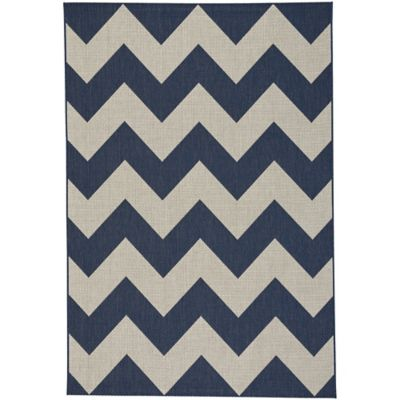 Capel Rugs Elsinore Chevron Woven 3 Foot 11 Inch X 5 Foot