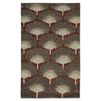 Capel Rugs Williamsburg Ina 8-Foot x 10-Foot Area Rug in Ruby