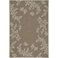 Capel Rugs Biltmore Elsinore Winterberry 3-Foot 11-Inch x 5-Foot 6-Inch Area Rug in Wheat