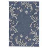 Capel Rugs Biltmore Elsinore Winterberry 5-Foot 3-Inch x 7-Foot 6-Inch Area Rug in Blue