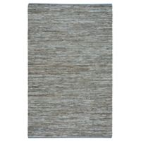 Capel Rugs Zions View 4-Foot x 6-Foot Area Rug in Light Grey