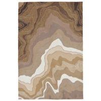 Liora Manne Mykonos Desert 7-Foot 6-Inch x 9-Foot 6-Inch Indoor/Outdoor Area Rug in Khaki