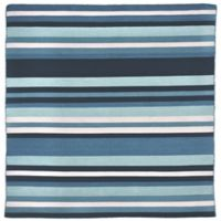 Liora Manne Tribeca Water 8-Foot Square Area Rug in Blue