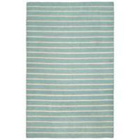 Liora Manne Sorrento Indoor/Outdoor 5-Foot x 7-Foot 6-Inch Area Rug in Blue