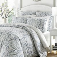 Stone Cottage Caldecott King Duvet Set in Blue