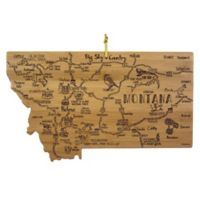 Totally Bamboo® Montana Destination Cutting Board