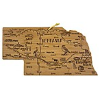 Totally Bamboo® Nebraska Destination Cutting Board