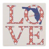 Thirstystone® Dolomite Hialeah, FL Love Square Single Coaster