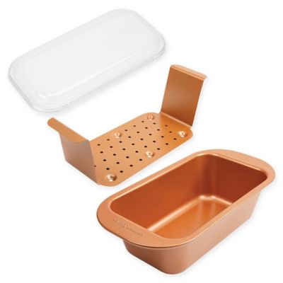 Copper Chef Perfect Loaf Pan Bed Bath Beyond