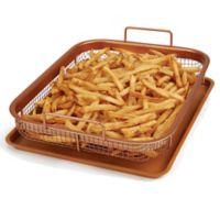 Copper Crisper XL by Copper Chef™ 2 Piece Set