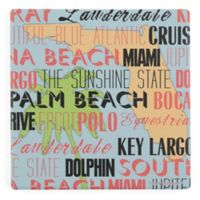 Thirstystone® Dolomite Sunshine State Square Single Coaster