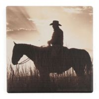 Thirstystone® Dolomite Day's End Single Square Coaster
