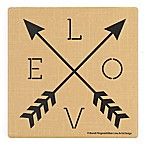 Thirstystone® Love Arrows Single Square Coaster