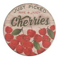 Thirstystone® Dolomite Cherries Single Round Coaster