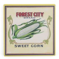 Thirstystone® Dolomite Forest City Sweet Corn Square Single Coaster