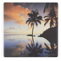 Thirstystone® Dolomite Paradise Dreams II Single Square Coaster