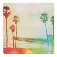 Thirstystone® California Cool Beach Single Square Coaster