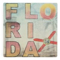 Thirstystone® Florida Landmarks Single Square Coaster