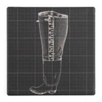 Thirstystone® Dolomite Fisherman Wade Boot Square Single Coaster