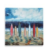 Thirstystone® Dolomite Surf Boards Single Square Coaster