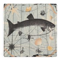 Thirstystone® Salmo Salar Salmon Single Dolomite Coaster