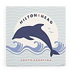 Thirstystone® Dolomite Hilton Head Square Single Coaster