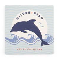 Thirstystone® Dolomite Hilton Head Square Single Coaster