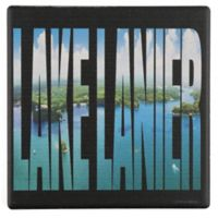 Thirstystone® Dolomite Lanier Letters Single Square Coaster