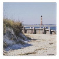 Thirstystone® Dolomite Morris Island Lighthouse Single Square Coaster