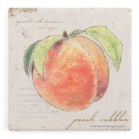Thirstystone® Dolomite Garden Treasures Single Square Coaster