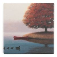 Thirstystone® Dolomite Early in the Morning Single Square Coaster