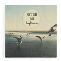 Thirstystone® Dolomite Don't Quit Your Daydream Single Square Coaster