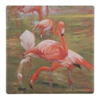 Thirstystone® Flamingo Square Single Coaster