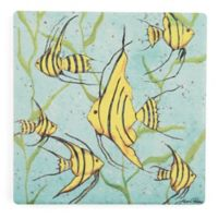 Thirstystone® School of Fish III Square Single Coaster