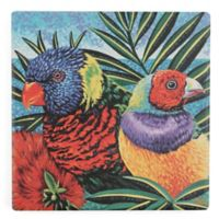 Thirstystone® Birds in Paradise II Square Single Coaster
