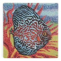 Thirstystone® Brilliant Tropical Fish II Square Single Coaster